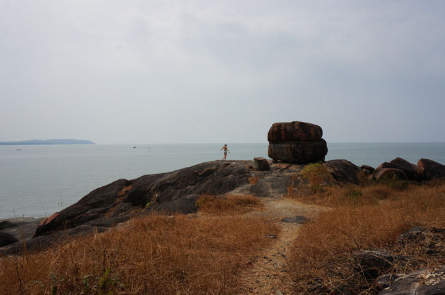 Просторы острова и любимая жена