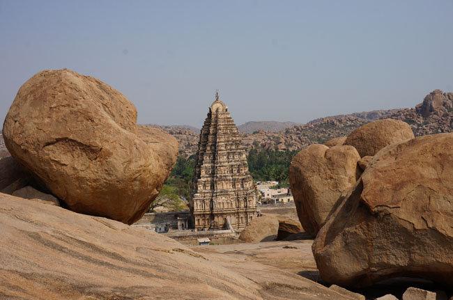 Хампи. Храм и камушки