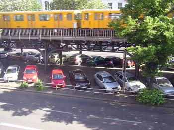 Берлин. Отель Aldea, вид из окна