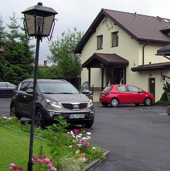 Отель Пеликан, наша Спортага