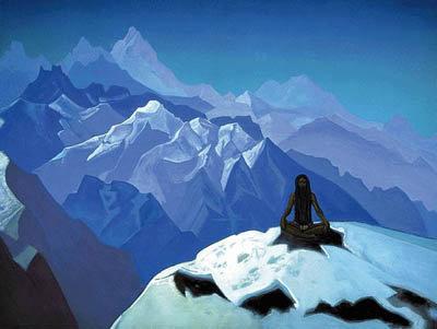 Отшельник в горах