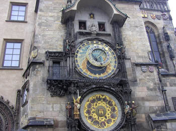 Прага, знаменитые часы