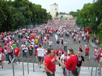 Варшава 2012. Польша - Россия. Проход на матч