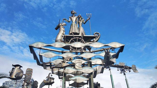 Сочи. Скульптура в парке