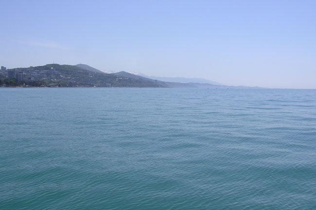 Чёрное море в Сочи